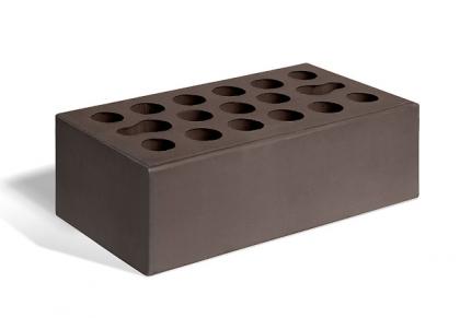 Кирпич керамический лицевой утолщенный (шоколад)