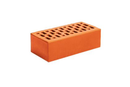 Кирпич керамический лицевой утолщенный красный гладкий (308 шт)