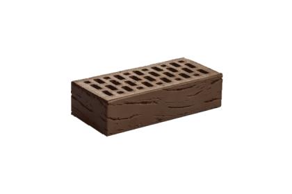 Кирпич керамический лицевой одинарный Шоколад Антик (420 шт)