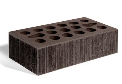 Кирпич керамический лицевой одинарный (шоколад бархат)