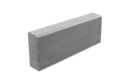 Бордюр тротуарный серый 500х200х80