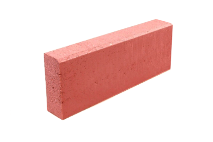 Бордюр тротуарный красный 500х200х80