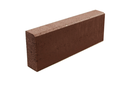 Бордюр тротуарный коричневый 500х200х80