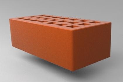 Кирпич керамический лицевой полуторный красный гладкий СЗЛК