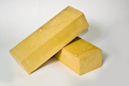 Кирпич лицевой колотый желтый (460 шт)
