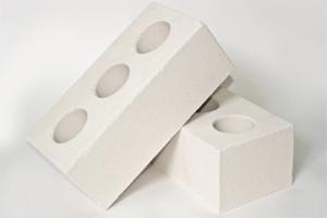 Кирпич силикатный полуторный лицевой пустотелый белый (672 шт)