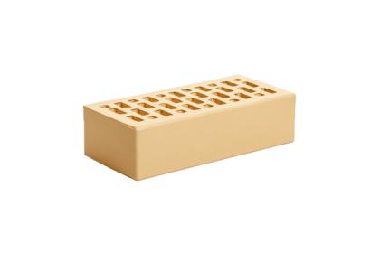 Кирпич керамический лицевой одинарный Ваниль гладкий (420 шт)