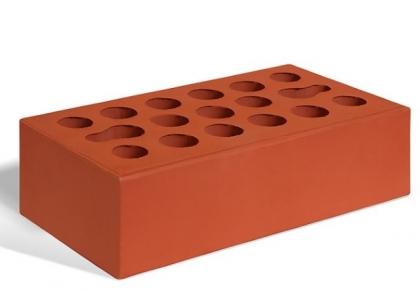 Кирпич керамический лицевой одинарный (красный)