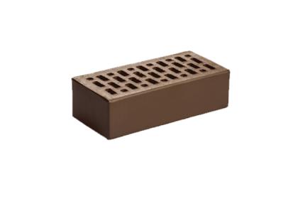 Кирпич керамический лицевой одинарный Шоколад гладкий (420 шт)