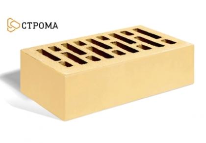 Кирпич керамический лицевой одинарный (солома)