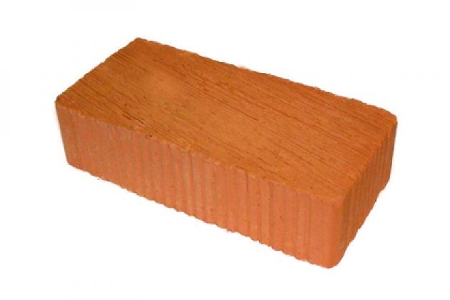 Кирпич керамический рядовой М100, М125, М150