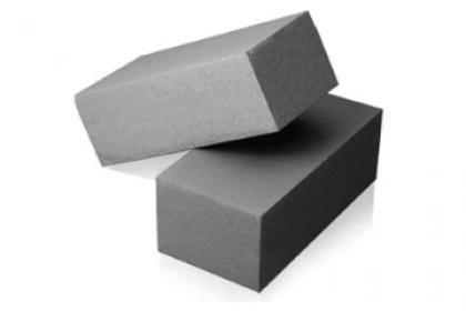 Кирпич силикатный полуторный  полнотелый  (серый)