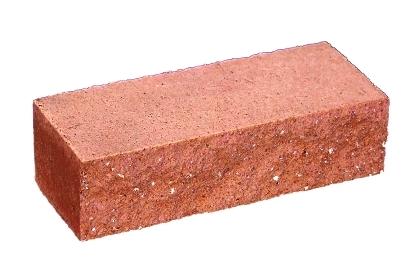Камень декоративный (бессер) 190х90х56 красный