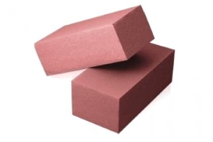 Кирпич силикатный полуторный  полнотелый  (розовый)