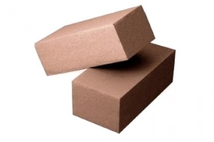 Кирпич силикатный полуторный  полнотелый  (коричневый)