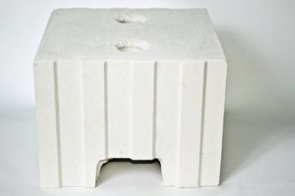 Блок стеновой рядовой пустотелый силикатный М-150