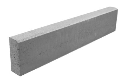 Бордюр тротуарный серый 1000х200х80