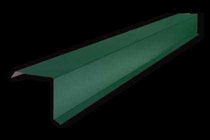 Торцевая планка М/Ч RAL6005