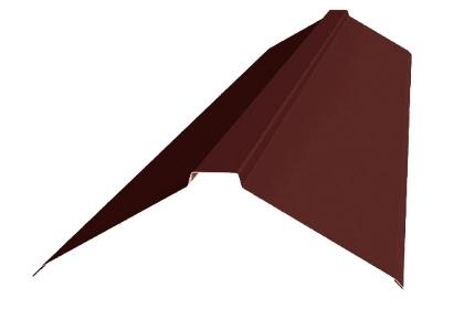 Планка конька плоского RAL8017