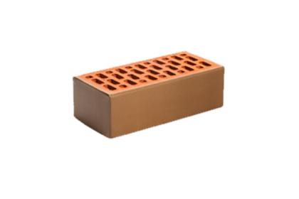 Кирпич керамический лицевой утолщенный «ФЛЕШ-ОБЖИГ» гладкий (308 шт)