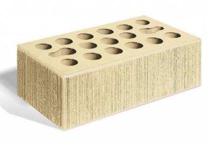 Кирпич керамический лицевой утолщенный (пшеничное лето бархат)