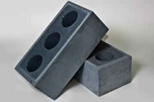 Кирпич силикатный полуторный  пустотелый  (серый)