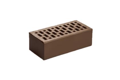 Кирпич керамический лицевой утолщенный Шоколад гладкий (308 шт)